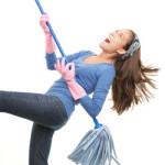 Творческий подход к уборке