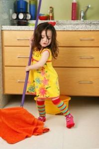 Как приучить детей к порядку в доме