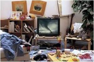 беспорядок в доме негативно влияет на наше настроение
