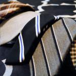 Организация гардероба. Хранение галстуков
