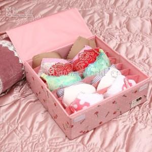 коробочка для хранения нижнего белья (бюстгалтеры)