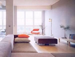 минимализм обеспечивает легкость уборки