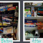 Организация бельевого шкафа (Фото до и после)