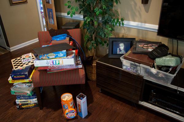 Организация бельевого шкафа - разделить все вещи на группы