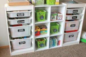 как организовать детскую комнату - этикетки