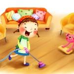 Сказкотерапия для детей на тему уборки игрушек и порядка в доме